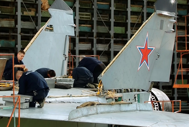 Modernizing MiG-31 jets at Top Secret Falcon Factory