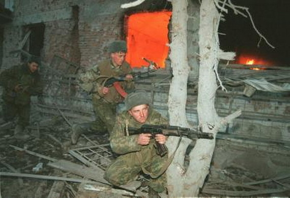 Faces of War (Chechnya, 1999)