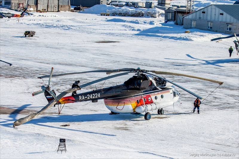 Mi-8 the Hardworking Norther Helper Helicopter