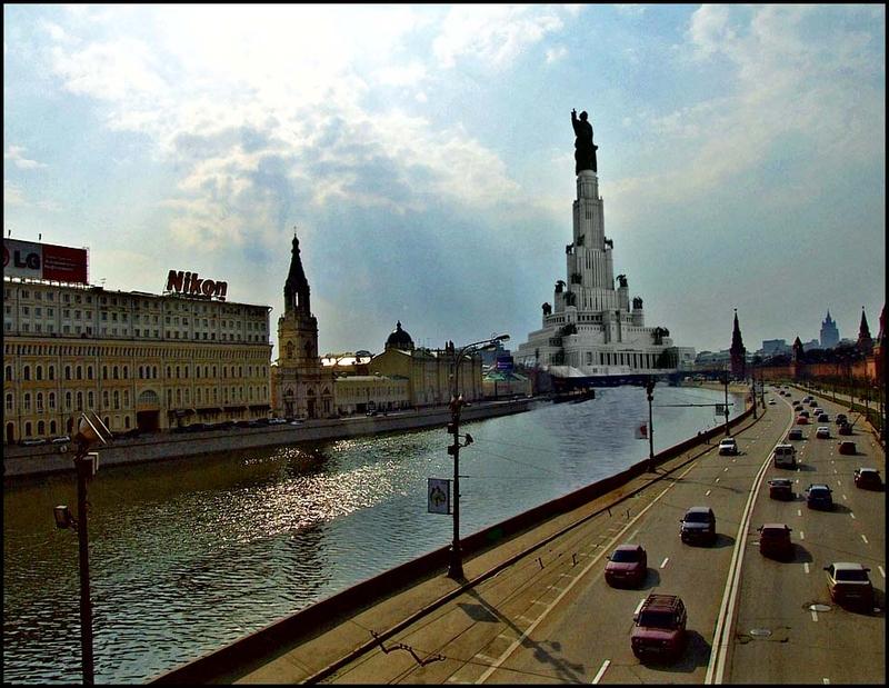 Building Baikal-Amur Mainline in USSR