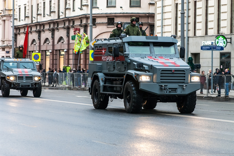 New Stuff on Display at the Russian Parade 2018 [photos]