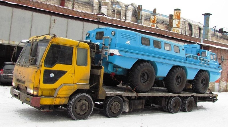 In Moscow They Restored the Soviet Unique All-terrain Vehicle