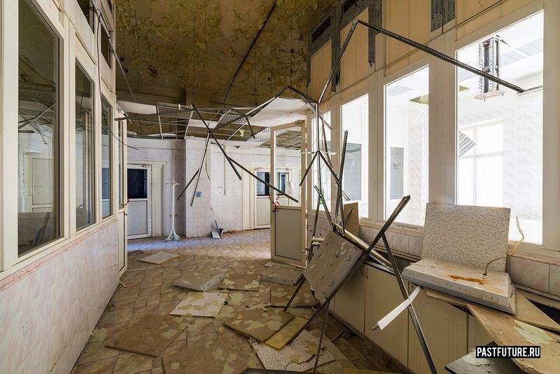 Abandoned Hospital in St. Petersburg