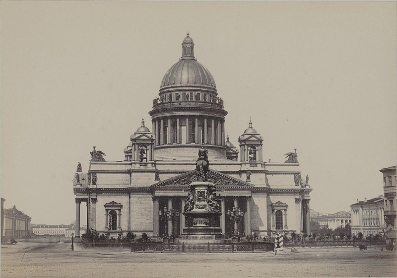 St. Petersburg 19th century photos: The city and surroundings in 1860-s