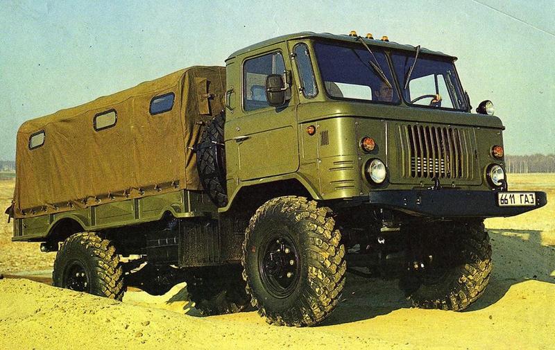 Maybe the best Soviet truck, Legend of Soviet Union - GAZ-66