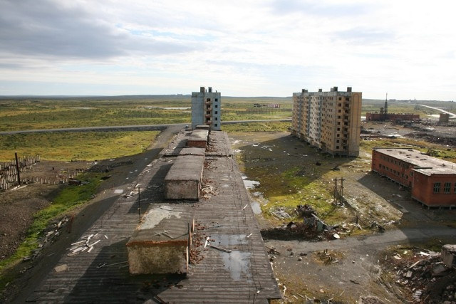 In The Valleys of Death: The Top 5 Russian Ghost Towns