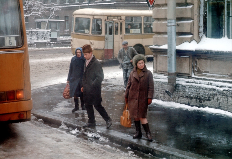 1976 year in color. Life in the Soviet Union 40 years ago