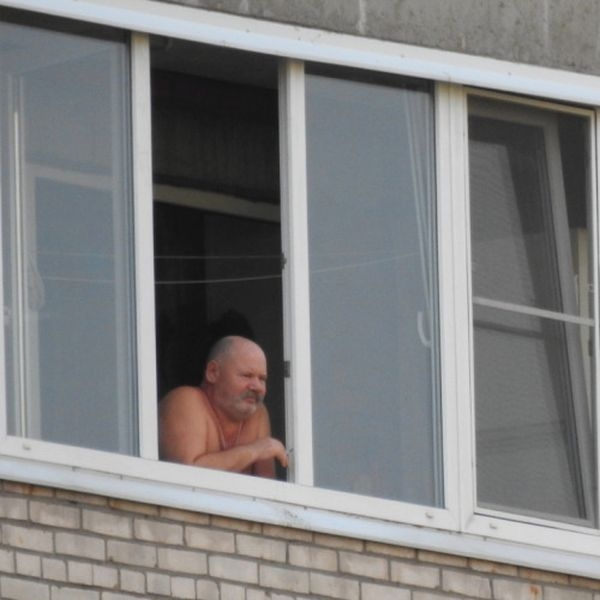 Windows and balconies of Russian apartments (43 photos)