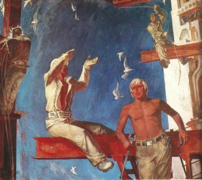Visual Arts of the USSR. The Builders of Socialism