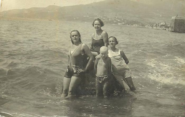 Crimean beaches in 20 - 50 years of the XX century