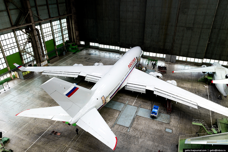Production of Il-96-300 and AN-148.