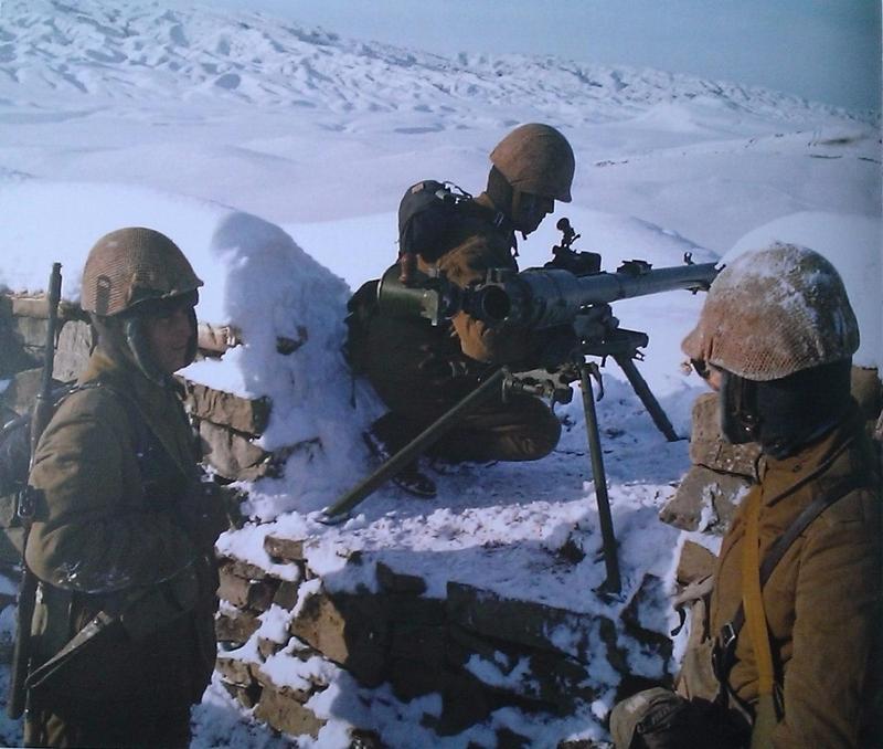 Soviet army in Afghanistan