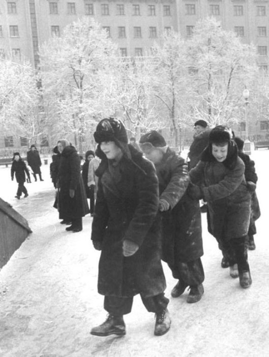 Winter in the USSR