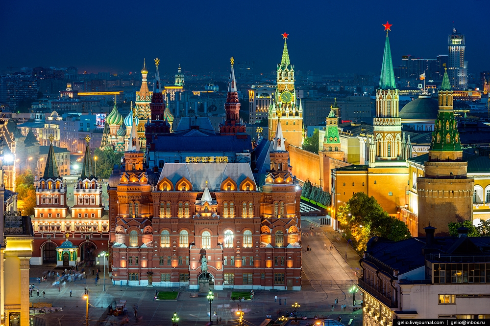 Beautiful Shots of Moscow from Above 2014 and a lot info ...
