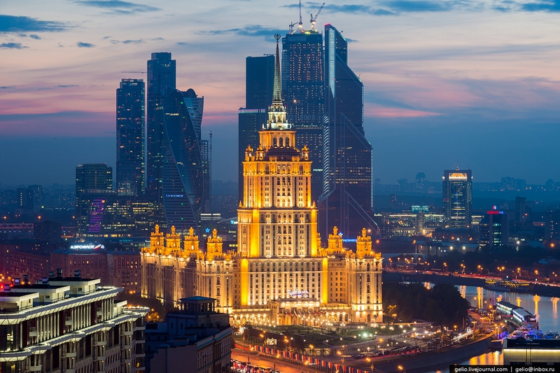 Beautiful Shots of Moscow from Above 2014 and a lot info