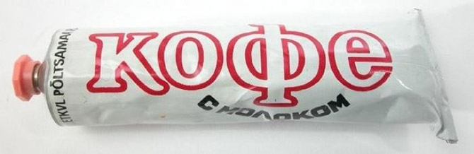 Tubed Food of Soviet Cosmonauts