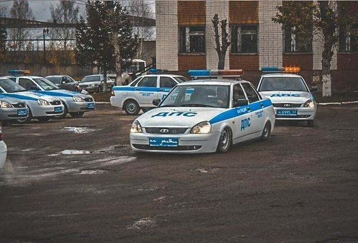 Some Fun Photos of Russian Police
