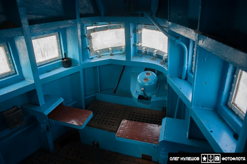 Inside of Class Typhoon Atomic Submarine