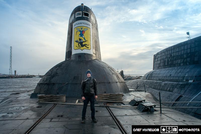 акула подводная лодка архангельск