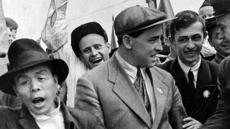 Free and Happy Soviet People