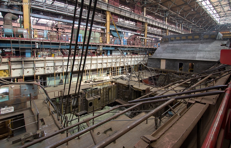 Getting into Secret Navy Ship Building Dock
