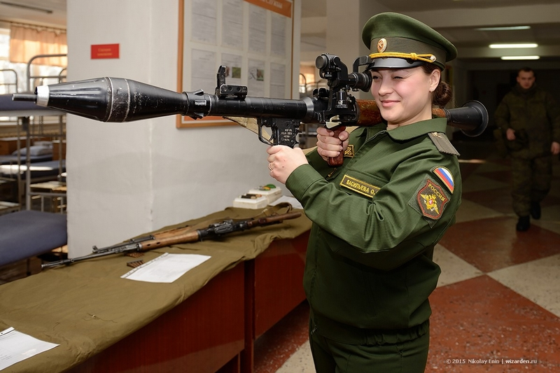 Inside of Russian Army Rocket Regiment