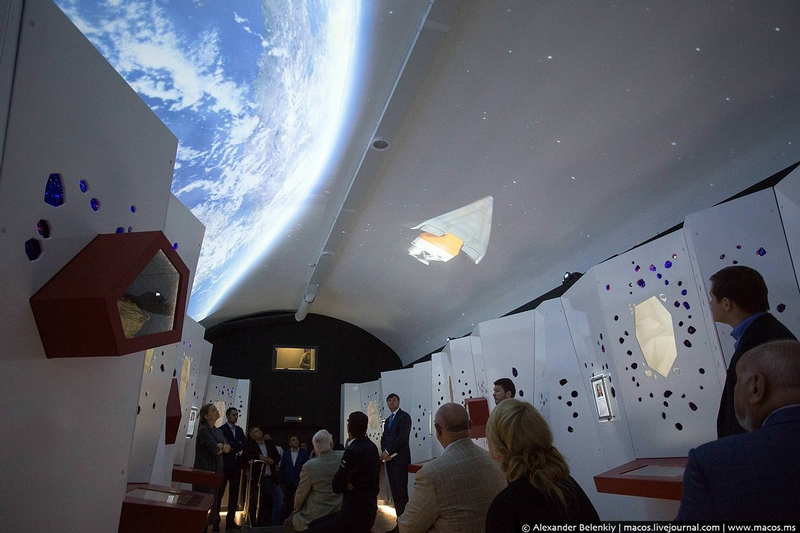Inside of Russian Space Shuttle Buran