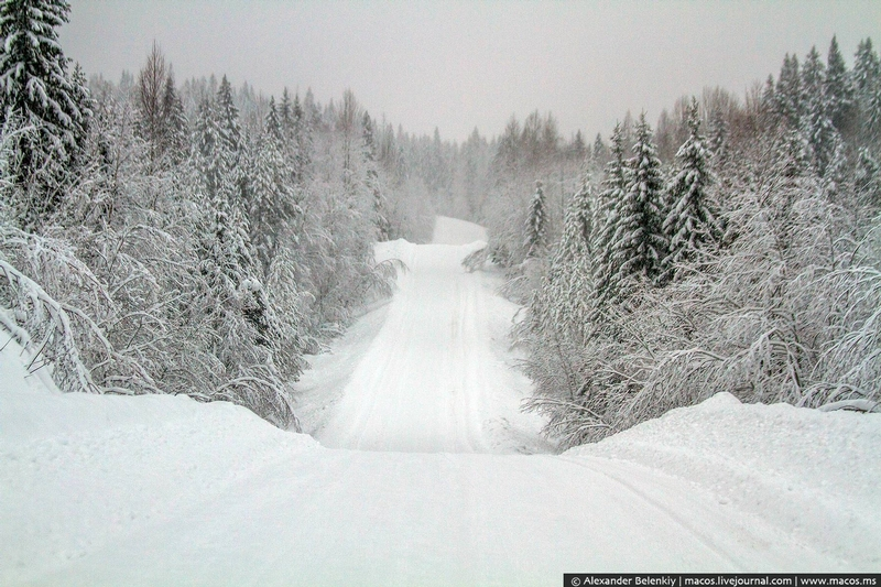 Winter in Karelia, Russia [20 photos]