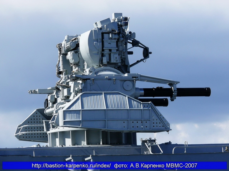 Kortik, the Soviet Ship Defense System