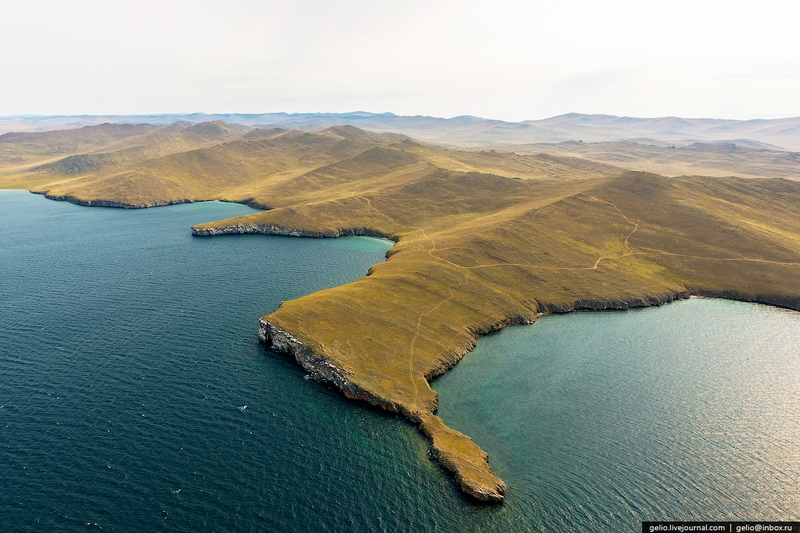 Baikal: The Deepest Lake in the World Photos from Above