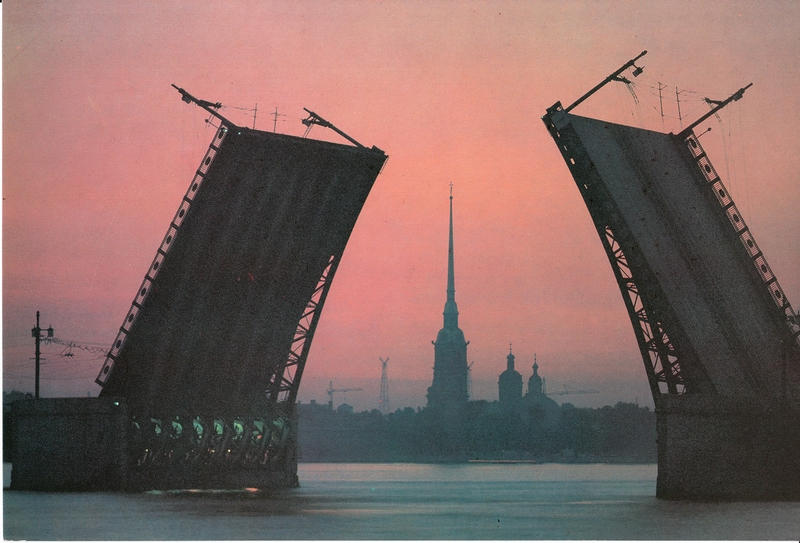 Postcards of Leningrad of the 80s