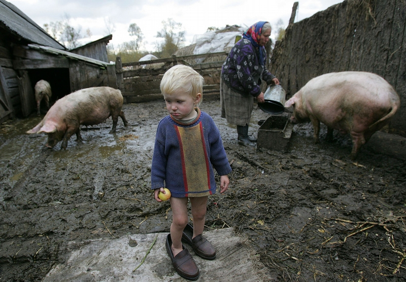 Life in Belarus Village