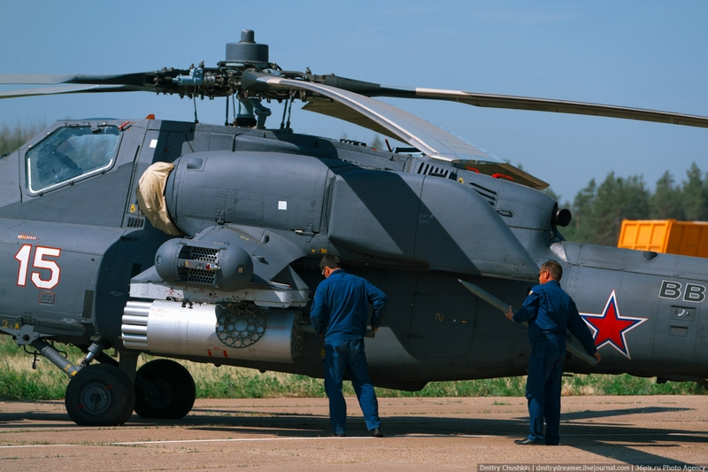 Loading Ammo into Helicopters