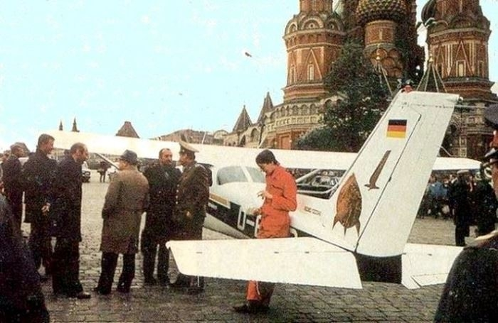 Mathias Rust Landed on Red Square