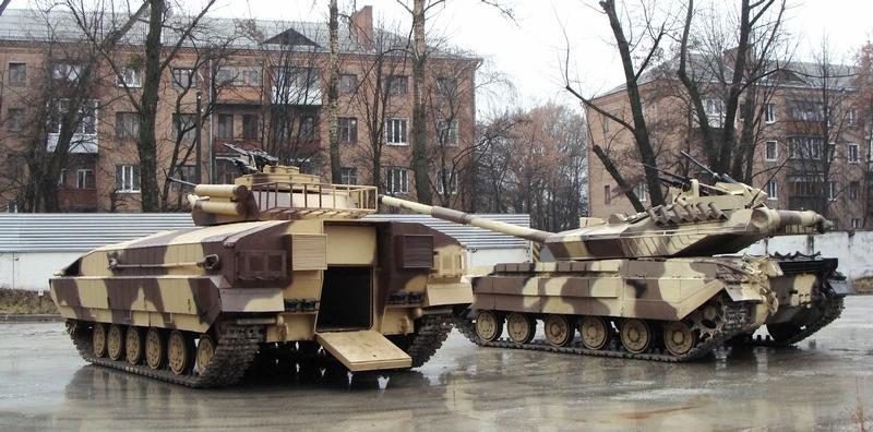 New Ukrainian Tank