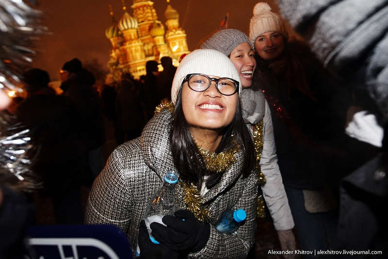 New Year on the Red Square