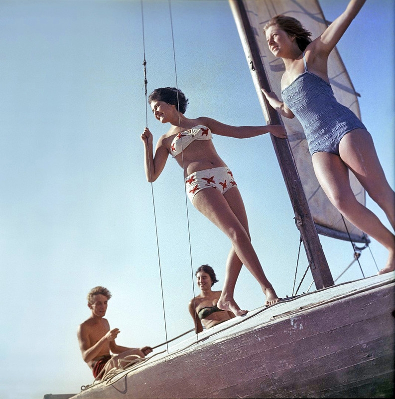 Bright Moments in Life of USSR People