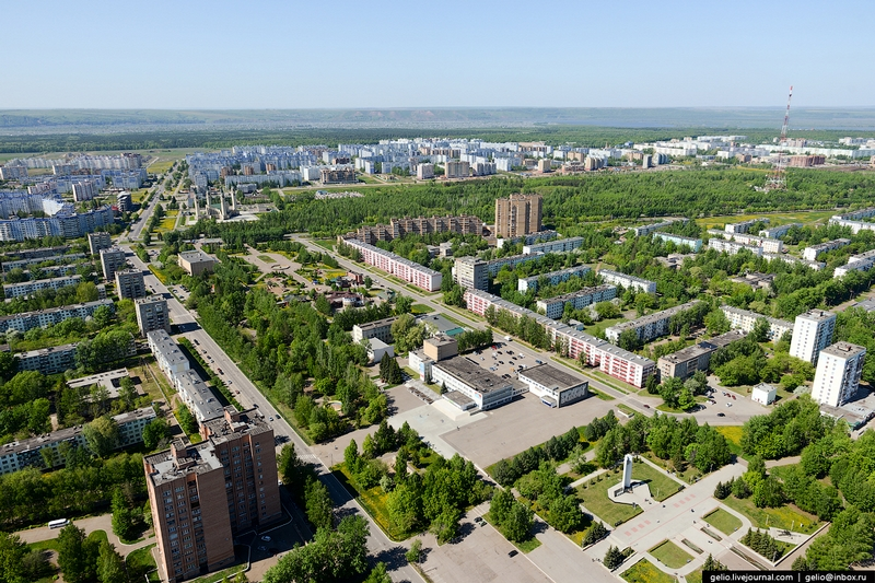 Nizhnekamsk: Russian Oil Refining Capital