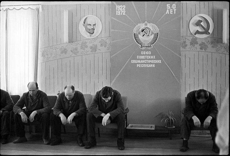 Soviet People Not Smiling Photos in 1970s