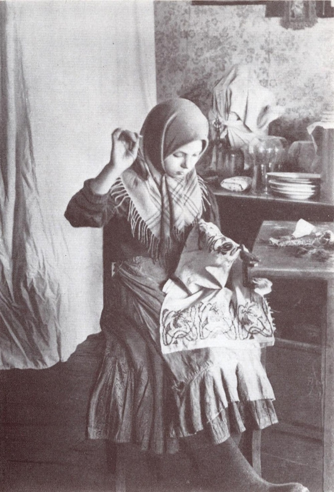 Russian Peasants and Their Craft Jobs
