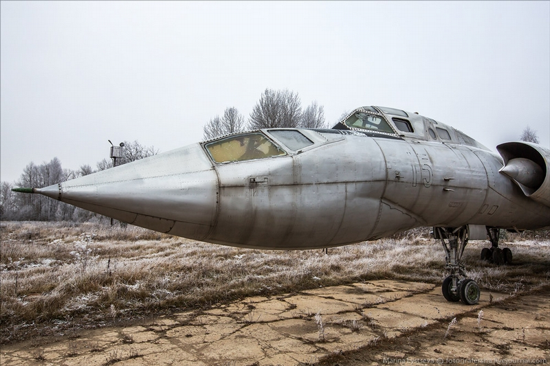 Some Rare Tu-128 Intercepter Jets of Rzhevsk