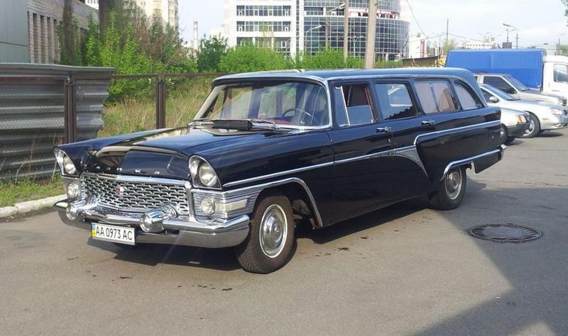 One Old Ambulance Soviet Retro Car Restored