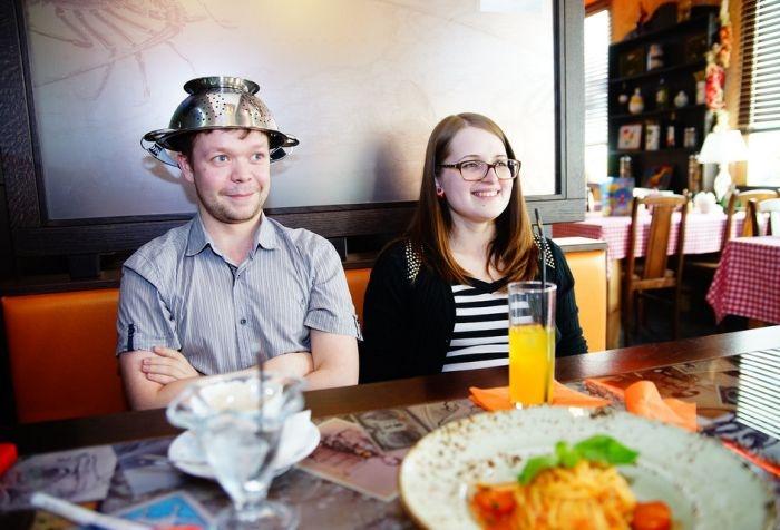 Pastafarian Wedding in Tver