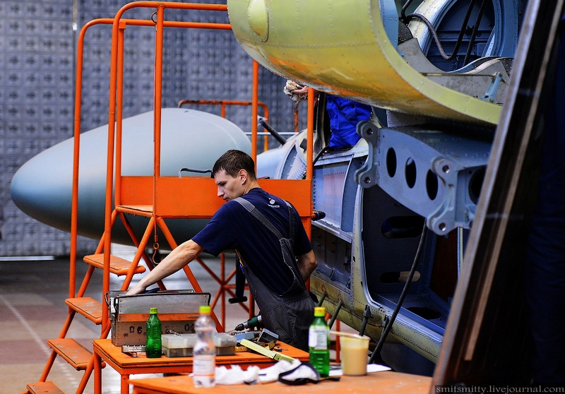 Production of KA Helicopters
