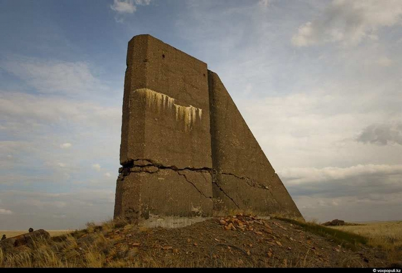 Radioactive legacy of the Soviet Union in the ruins of the Semipalatinsk Nuclear Test Site