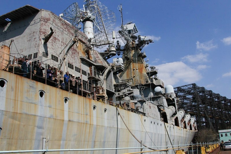 Rocket Cruiser Ukraina
