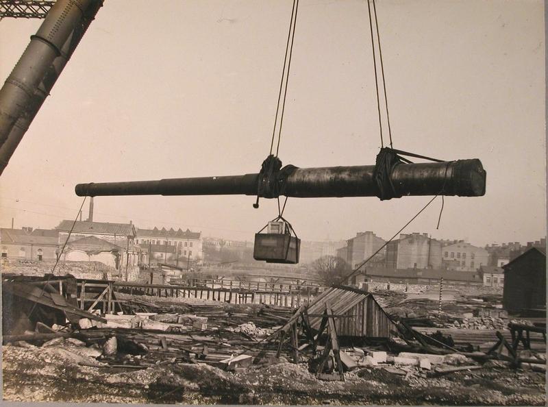 Battleship Gangut, 1911