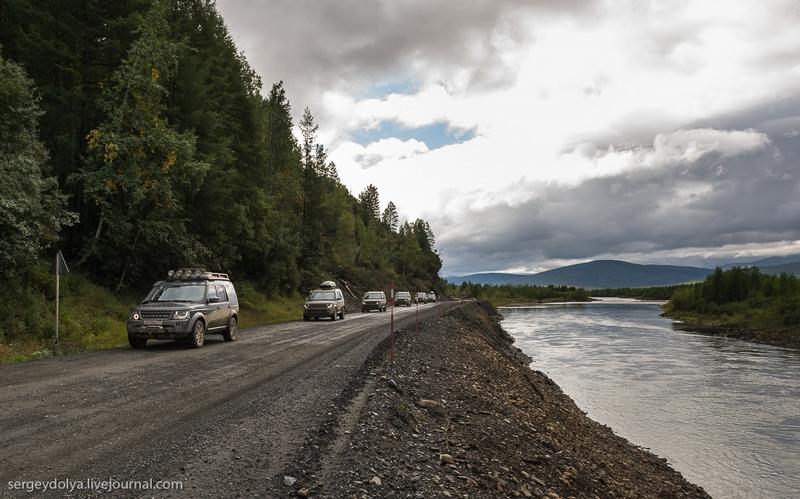 Russian Highway Kolyma Beautiful and Scary