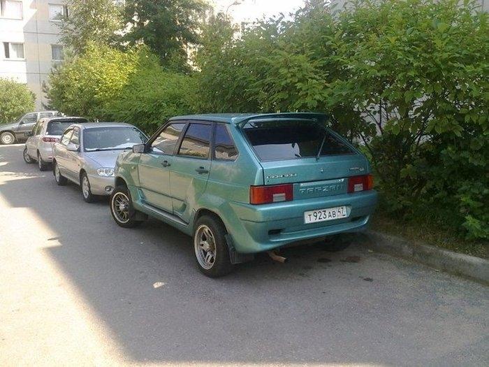 Lada Tarzan: Russian Lada All Road Car from 1990s
