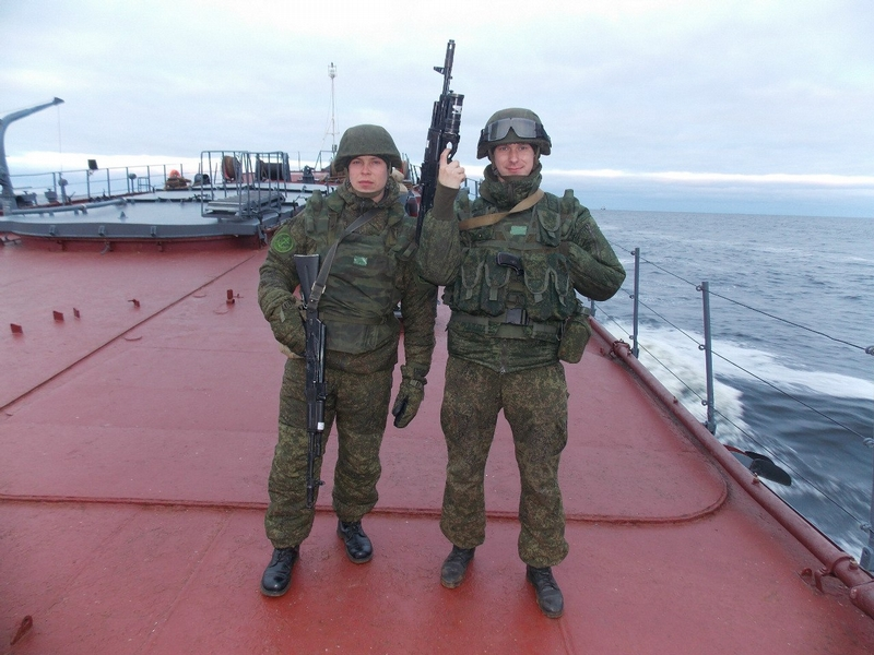 Russian Marines from SPUTNIK Regiment